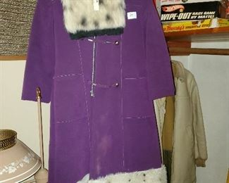 Many retro clothing pieces, including some by Lilli Ann