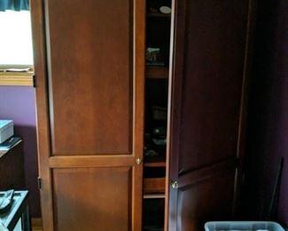 Thomasville Impressions cherry computer cabinet