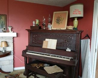 PEASE upright piano (needs work)