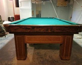 Krug billiards pool table