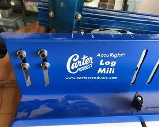 Carter Products Accuright Log Mill for use with band Saw