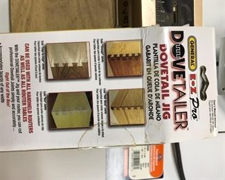"""General Dove tail Jig """"The Dovetail"""" new in box"""