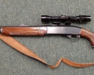 Remington Model 7400 W Bushnell Scope