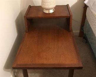 Vintage step end table.