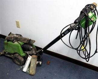 Wolff Super Stripper, Electric Floor Take Up Machine Includes Grease Gun, Grease And Blade Assortment, Powers On
