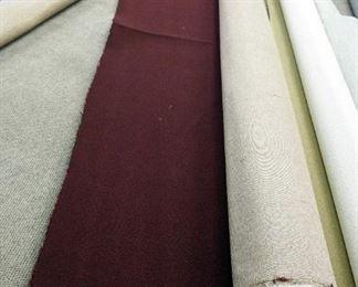 12' x 14.8' Commercial Level Loop Carpet Remnant, Regal Wine Color