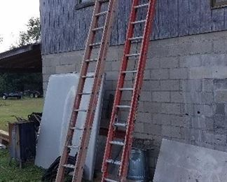 Fiberglass ladder, the 30-footer has been removed from sale unfortunately