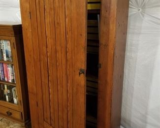 """Antique Jelly cabinet 37"""" wide  x 14"""" deep x 66"""" high"""