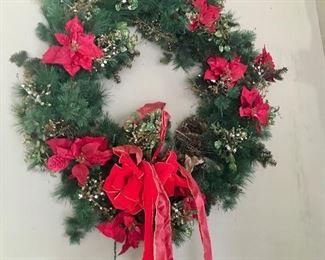 3 ft. wide pre-lit wreath