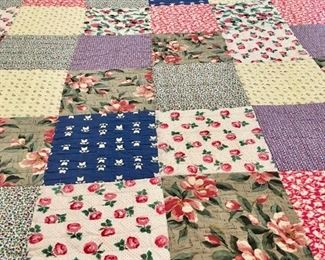 Patchwork quilt from L.L. Bean