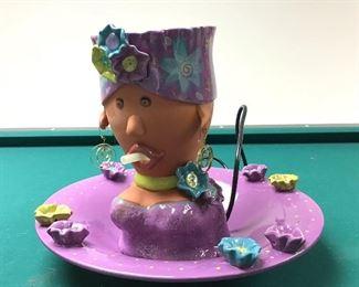 Meet Lola the Fountain Head!