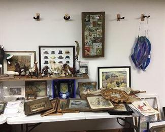 More artwork, prints and Breyer Horses