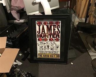 2008 James Hunter Concert Poster.