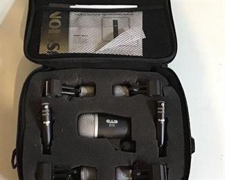 CAD 7 Piece Drum Microphone Set w/case
