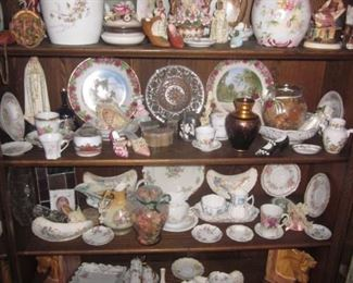 Coleport Royal Staffordshire by Clarice Cliff Rosenthal Tons of Limoges, RS Germany  Flow Blue   Tons of Collectibles