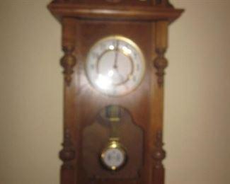 Antique German R A Wall Clock