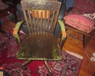 Vintage Desk Seating