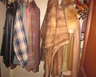 Vintage Furs and Men's Clothing