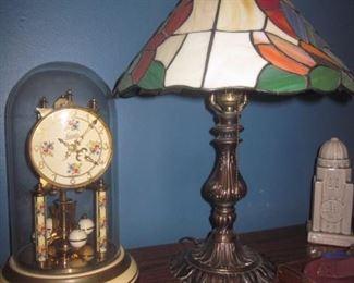 Clocks, Tiffany Style Lighting