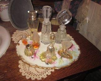 Vanity Sets Vintage Perfume Bottles