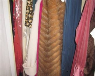 Vintage Furs and Clothing