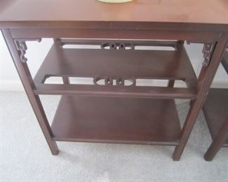 DETAIL OF END TABLES