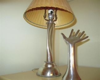 LAMP AND HAND
