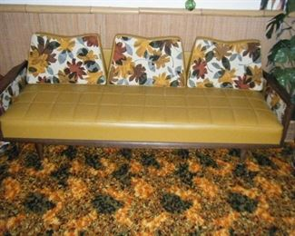 In pristine condition  . Dig the shag rug