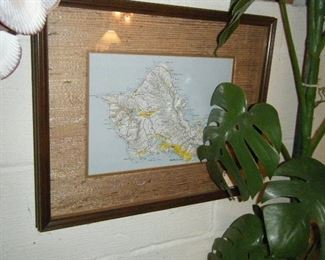 Map in frame