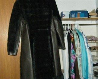 Vintage coat for a  lady  .