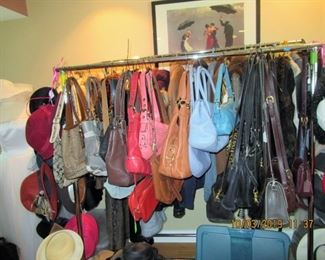 purses, coach, and others