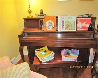 wurlitzer piano, has bench, and we also have piano music