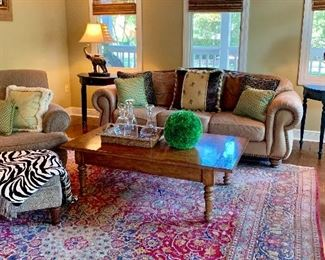 Cozy family room furniture collection