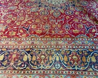 Beautiful and large oriental rug!