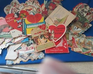 Mostly 1930's valentines