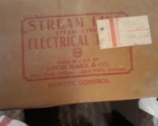 Steam train set original box