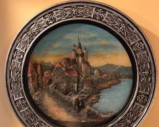 German castle wall decor