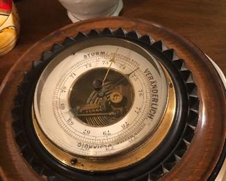 German chronometer.