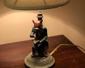 Fox Lamp