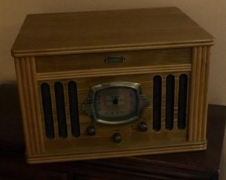 Crowley Record Player and Stereo