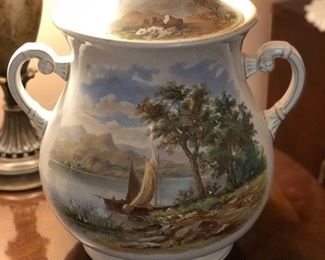 Hand painted Ceramic piece