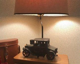 Cute car lamp