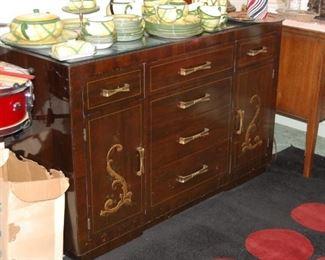 Thomasville Buffet Oriental Design
