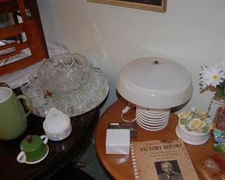 Vintage Punch Bowl