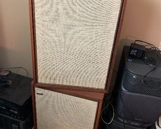 Vintage ampex speakers