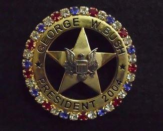 2004 campaign button