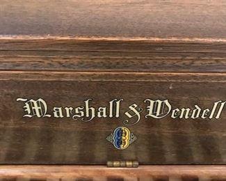 Marshall & Wendell Piano.