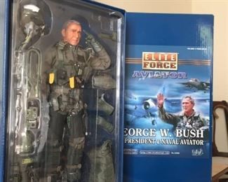 George Bush Doll.