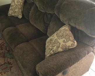 Comfy recliner sofa
