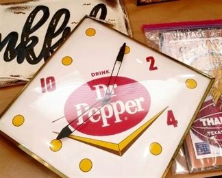 Dr. Pepper Pam Clock